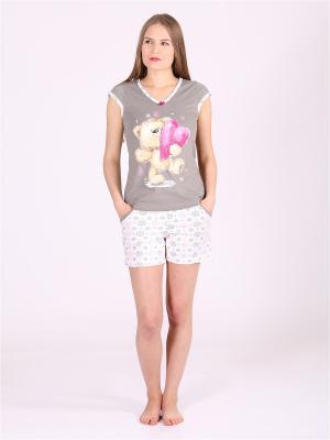 Пижамы Flip. Цвет: серый