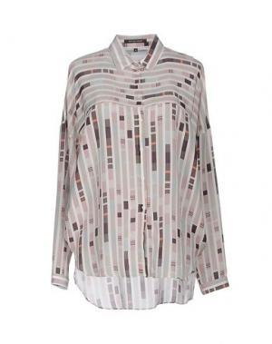 Pубашка WALTER VOULAZ. Цвет: бежевый