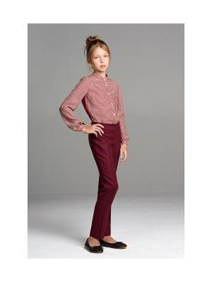 Рубашка MORU. Цвет: бордовый