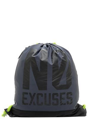 Рюкзак Reserved. Цвет: серый