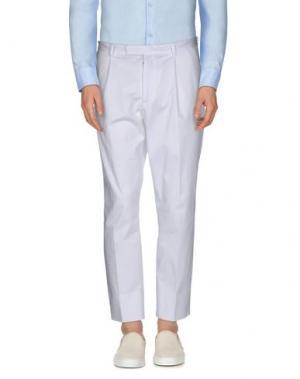 Повседневные брюки HōSIO. Цвет: белый