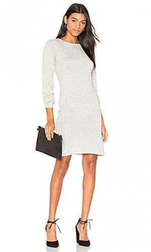 Платье свитер Callahan. Цвет: серый