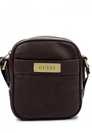 Сумка Guess. Цвет: коричневый