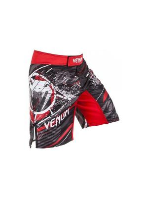 Шорты ММА Venum All Flag Black/Red. Цвет: красный, черный