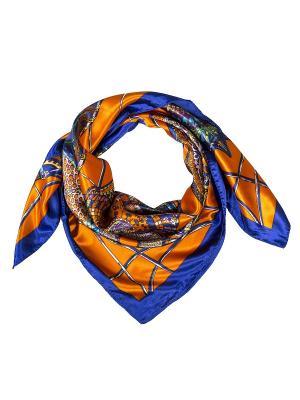 Платок Модные истории. Цвет: оранжевый