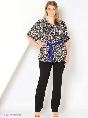 Блузка AMAZONE. Цвет: серый