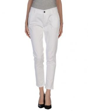 Повседневные брюки ANOTHER LABEL. Цвет: белый