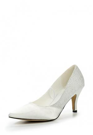 Туфли Topway. Цвет: белый