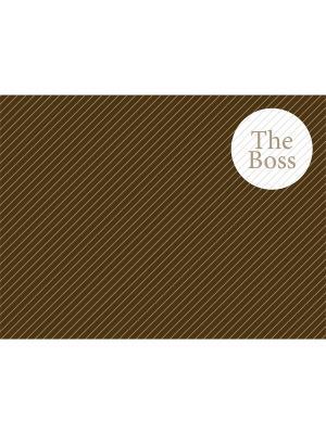 Сервировочная салфетка THE BOSS Contento. Цвет: коричневый, бежевый, белый