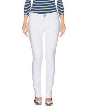 Джинсовые брюки BA&SH. Цвет: белый