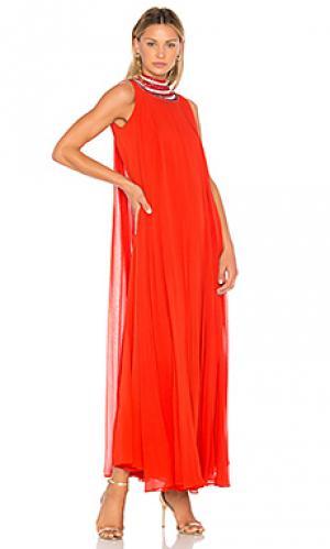 Вечернее платье cleo Carolina K. Цвет: красный