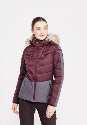 Куртка горнолыжная Icepeak. Цвет: бордовый