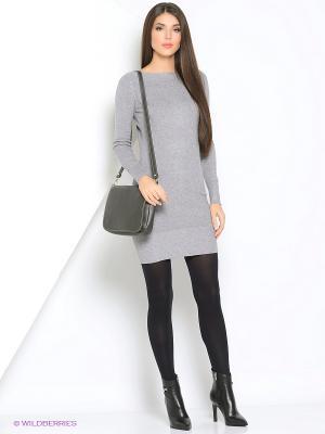 Платье Monlaydia. Цвет: серый