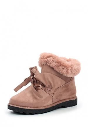Ботинки Sweet Shoes. Цвет: розовый