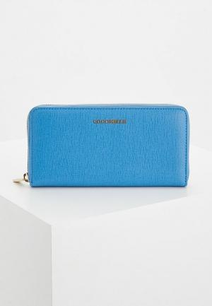 Кошелек Coccinelle. Цвет: голубой