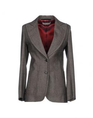 Пиджак VERONIQUE BRANQUINHO. Цвет: темно-коричневый