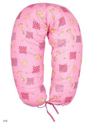 Подушка для беременных и кормящих ФЭСТ. Цвет: розовый, бежевый
