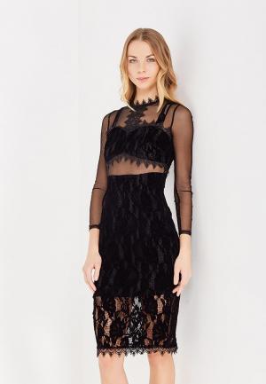 Платье LOST INK. Цвет: черный