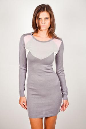 Платье LiberaVita. Цвет: серый