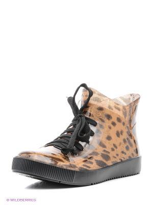 Ботинки Cooper. Цвет: светло-коричневый