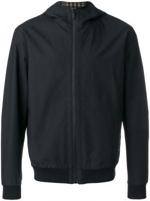 Куртка с капюшоном Z Zegna. Цвет: чёрный