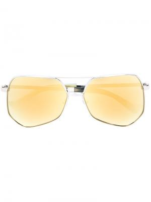 Солнцезащитные очки Megalast Grey Ant. Цвет: металлический