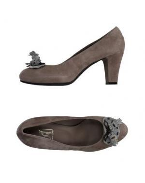 Туфли GIANCARLO PAOLI. Цвет: серый