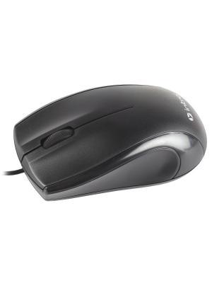 Мышь MU111  Intro black USB. Цвет: черный