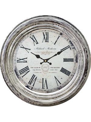 Часы настенные Михаилъ Москвинъ. Цвет: светло-серый