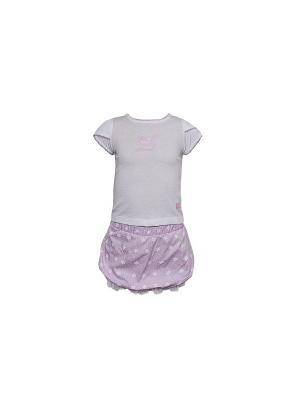 Комплект одежды WWW. Цвет: розовый