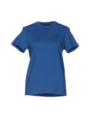 Футболка MR. WOLF. Цвет: пастельно-синий