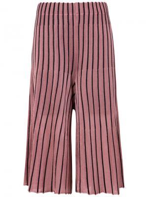 Pleated bicolor pants Osklen. Цвет: розовый и фиолетовый