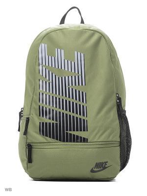 Рюкзак NIKE CLASSIC NORTH. Цвет: зеленый