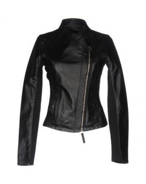 Куртка ONE. Цвет: черный