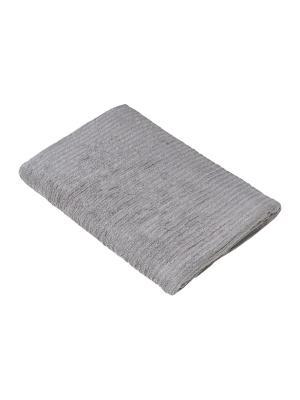 Махровое полотенце В рубчик 70*140 см., Dream time. Цвет: серый