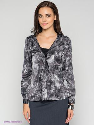 Блузка MEXX. Цвет: темно-серый