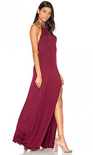 Платье nikki De Lacy. Цвет: вишня