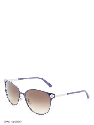 Солнцезащитные очки Versace. Цвет: фиолетовый