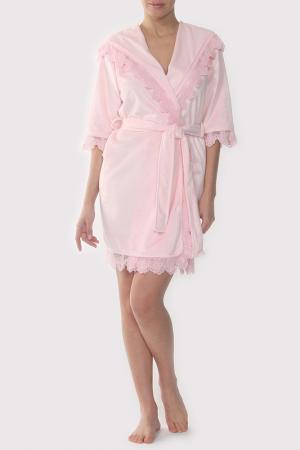 Халат Lelio. Цвет: розовый