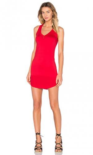 Платье-майка kendalson Feel the Piece. Цвет: красный