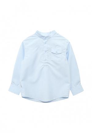 Рубашка Ёмаё. Цвет: голубой