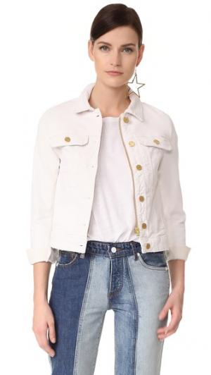 Пиджак из денима Kioky Blanc Zadig & Voltaire. Цвет: белый