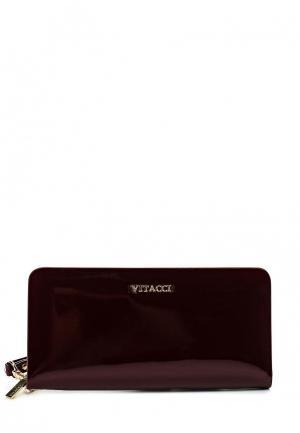 Кошелек Vitacci. Цвет: бордовый