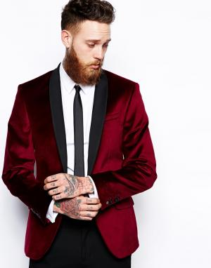 Red Eleven Бархатный пиджак