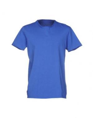 Футболка WOOL & CO. Цвет: синий