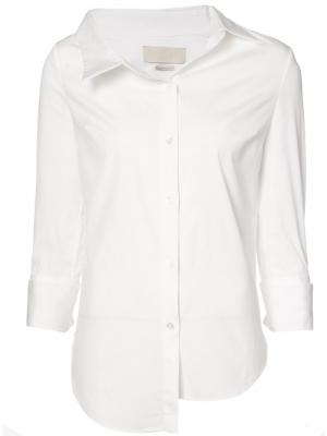 Asymmetric buttoned shirt Monse. Цвет: белый