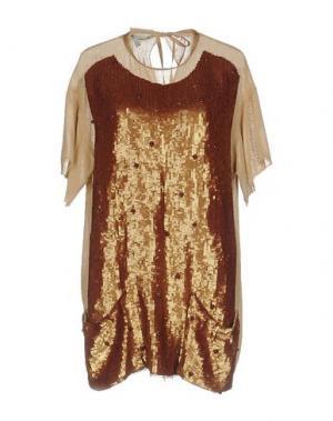 Блузка AQUILANO-RIMONDI. Цвет: хаки