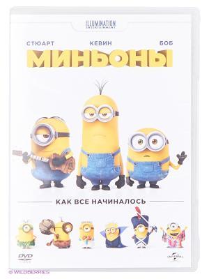Миньоны DVD-video (DVD-box) НД плэй. Цвет: белый, желтый