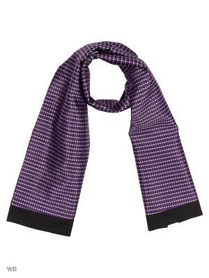 Шарф Vittorio Richi. Цвет: фиолетовый, черный