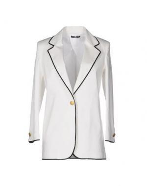 Пиджак NINEMINUTES. Цвет: белый